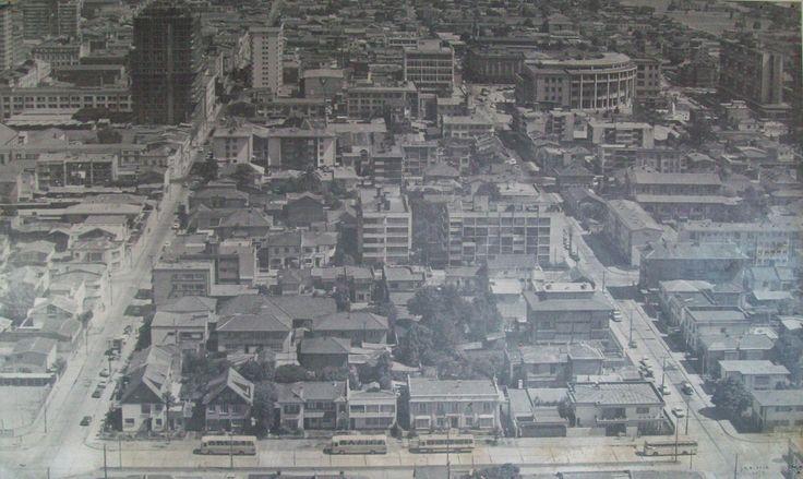 Enterreno - Fotos históricas de chile - fotos antiguas de Chile -  Panorámica de Concepción en 1978