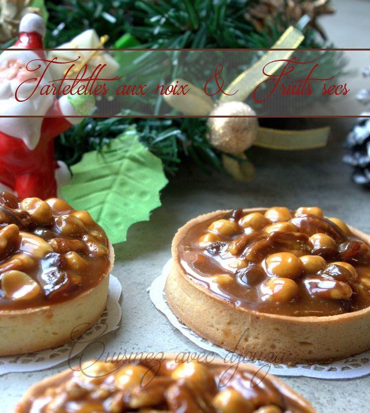 Tartelette aux noix, caramel beurre salé