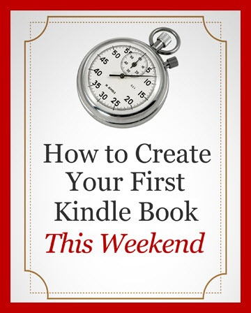 How to write an ebook in a weekend