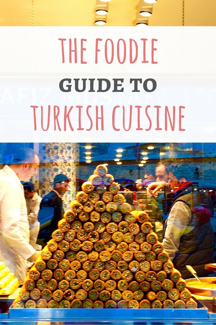 Check out the Foodie Guide to Turkish Cuisine and learn what to eat on your next trip to Turkey (or to your neighborhood Turkish restaurant)! | passportandplates...