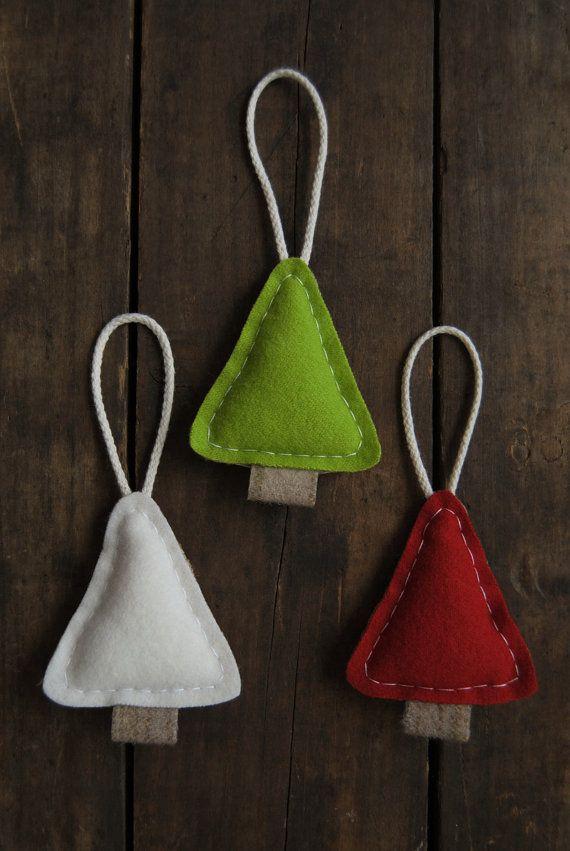 hand-sewn ornaments