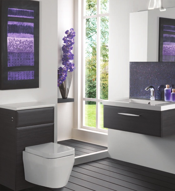 Purple Bathroom Pictures: 50 Best Images About Pink And Purple Bathroom Ideas On