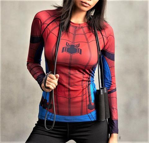 SPIDERMAN Women's Gym Shirt