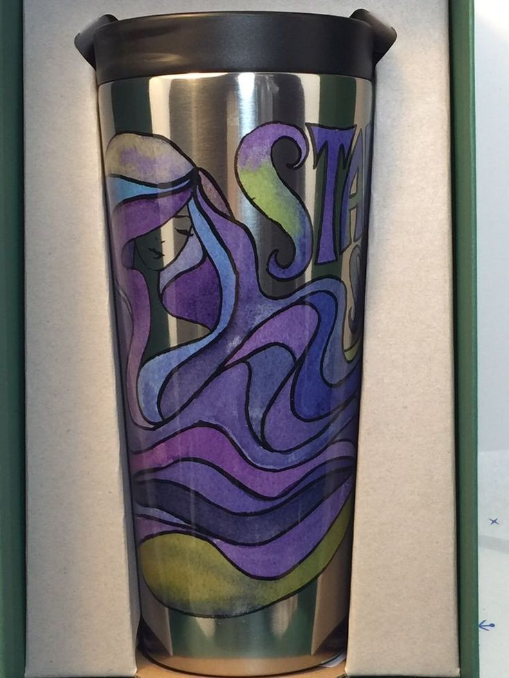 Details About 2016 Starbucks Siren 18 Oz Tumbler Starbucks