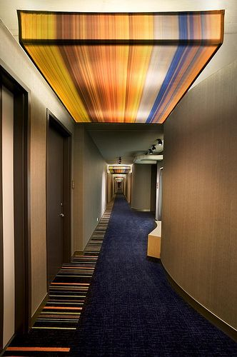 Aloft Ontario-Rancho Cucamonga—guest room corridor - For Corporate use ONLY by Aloft Hotels and Resorts, via Flickr