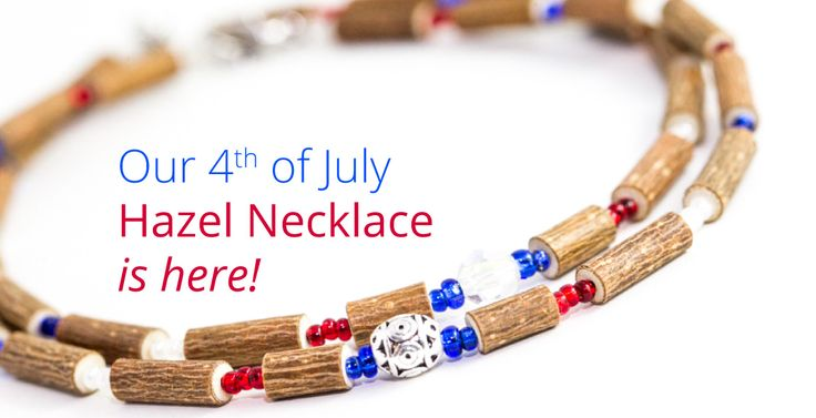 Special 4th of July necklaces for boys and girls!