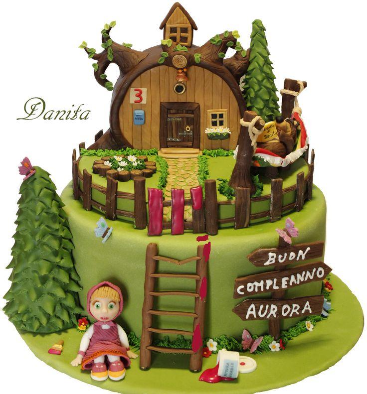 Le leccornie di Danita: Torta Masha e orso!!!