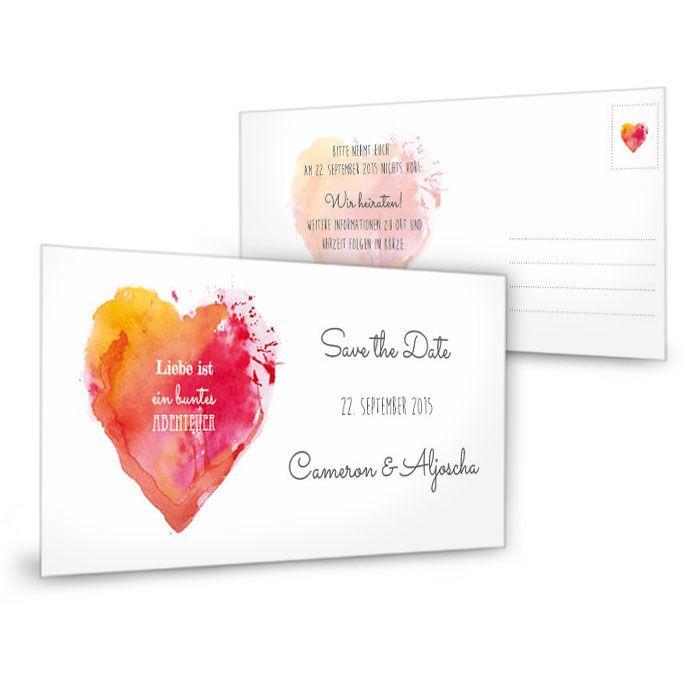83 besten save the date + einladungen bilder auf pinterest, Einladung