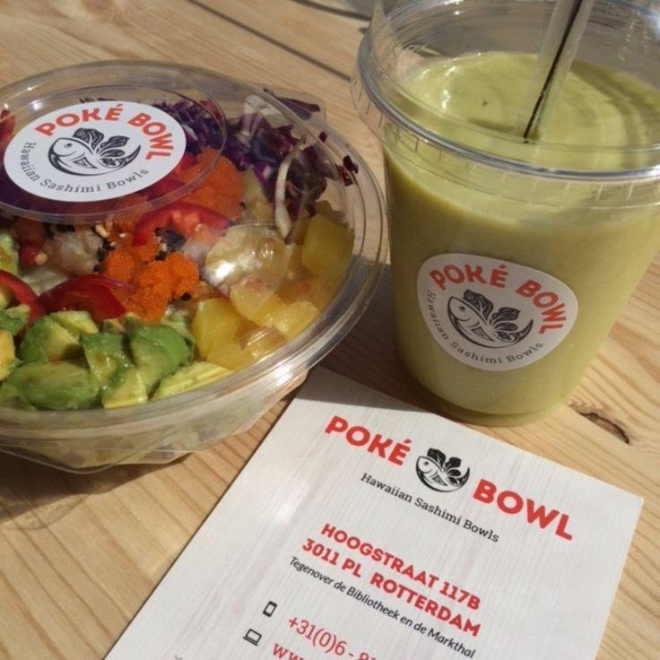 Poké Bowl is de eerste Hawaiiaanse saladebar van Nederland en wij Rotterdammers hebben de primeur. Je vindt de zaak op de Hoogstraat.