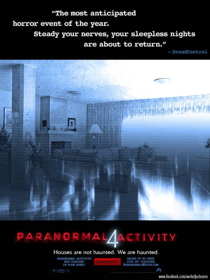 paranormal activity 4 - Google Search