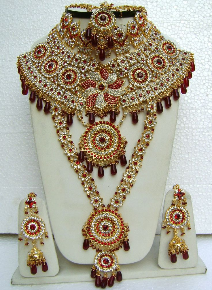 Indian Wedding Necklace Set