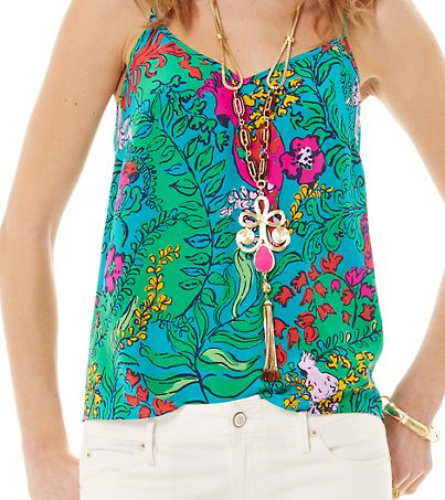 Outlet Order Online Sale Best Store To Get Printed Racerback Top - Lilly Tank by VIDA VIDA Popular Cheap Online Limited Edition Cheap Online Wiki Cheap Price 8BJIqj8qOt
