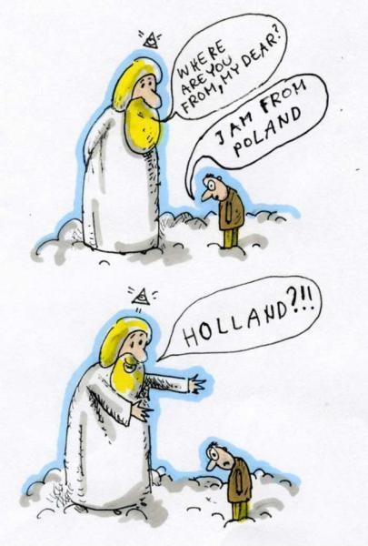 I said POLAND!