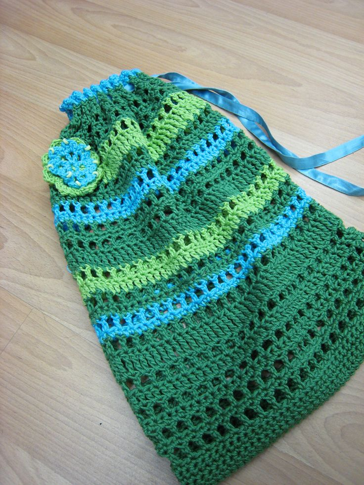 Free Crochet Pattern For Laundry Bag : 17 Best images about Crochet Bags & Purses on Pinterest ...