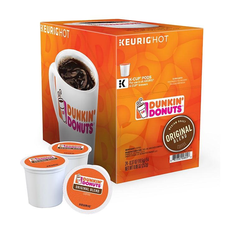 Dunkin donuts coffee singleserve kcup original 04