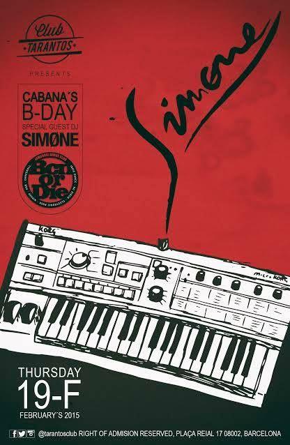 Bcn Or Die + Dj Simone