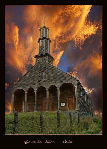 Iglesia+de+Chiloé++-+Chile