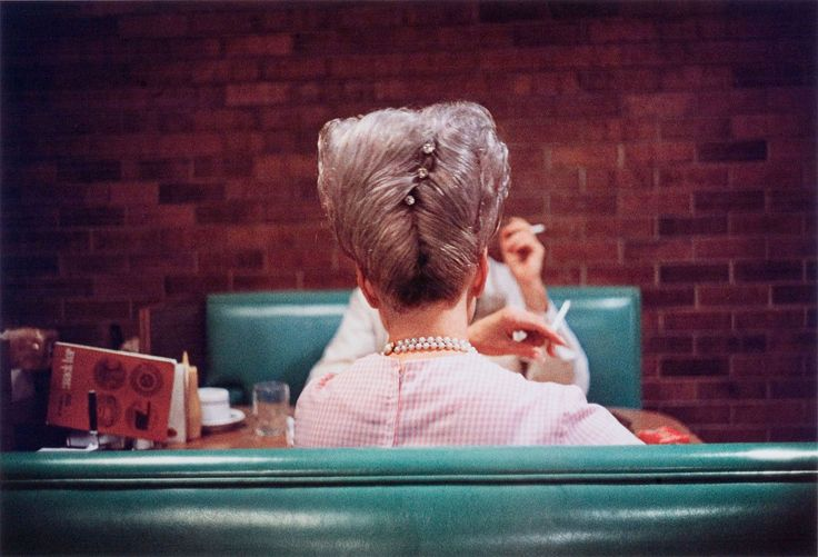 I love a bedazzled beehive. Elegant.  William Eggleston. 'Untitled' n.d
