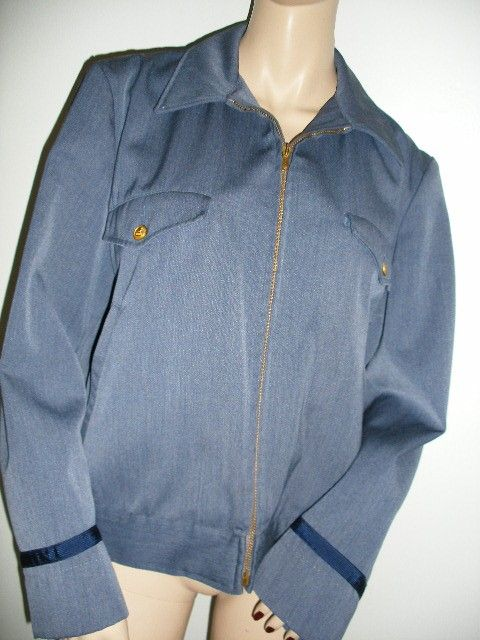 60s vintage postman jacket regulation letter carrier uniform james dean slouch windbreaker size large