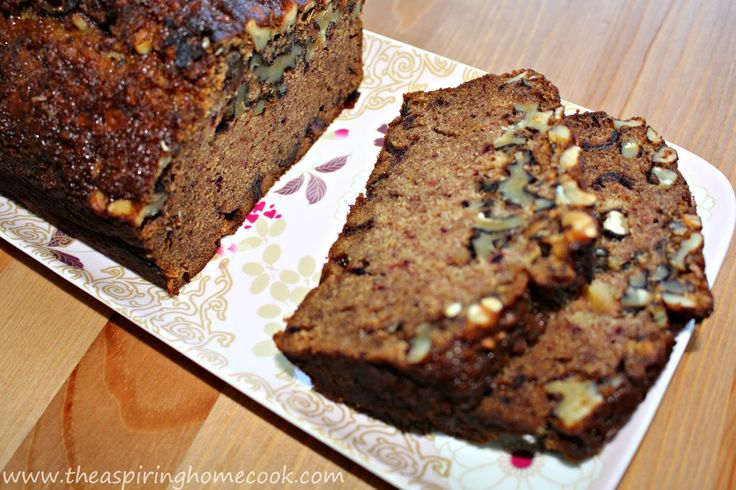 Date & Walnut Cake ... an easy cake recipe resulting in one of the best tea cakes ever.