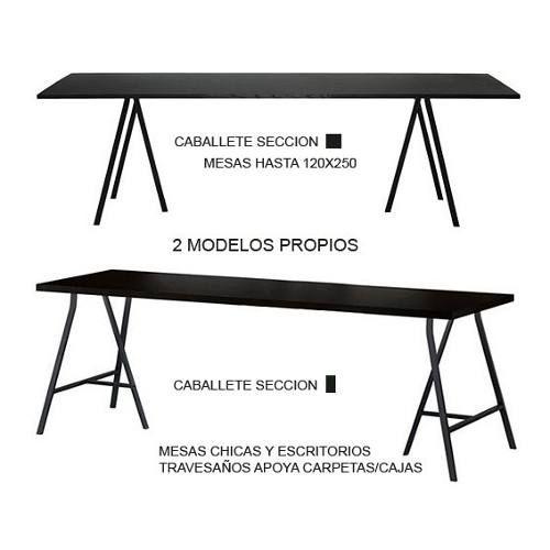 Barra bar mesa escandinavo caballete metal madera moderno for Mesas comedor escandinavas