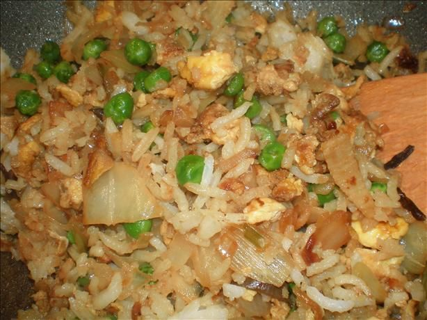 Trisha s Easy Fried Rice from Food.com: Quick and easy Fried Rice recipe that is good and does not have to have all the veggies.