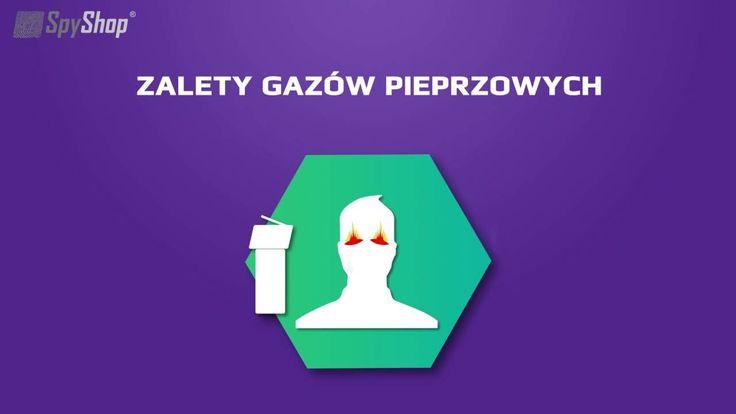 Jakie są wady i zalety gazów pieprzowych i paralizatorów? Animacja Spy Shop