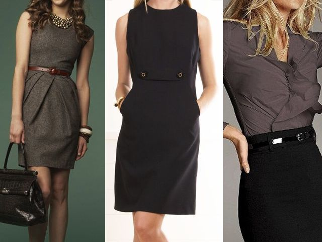 ideias de roupas para trabalhar. 040814-vestidos