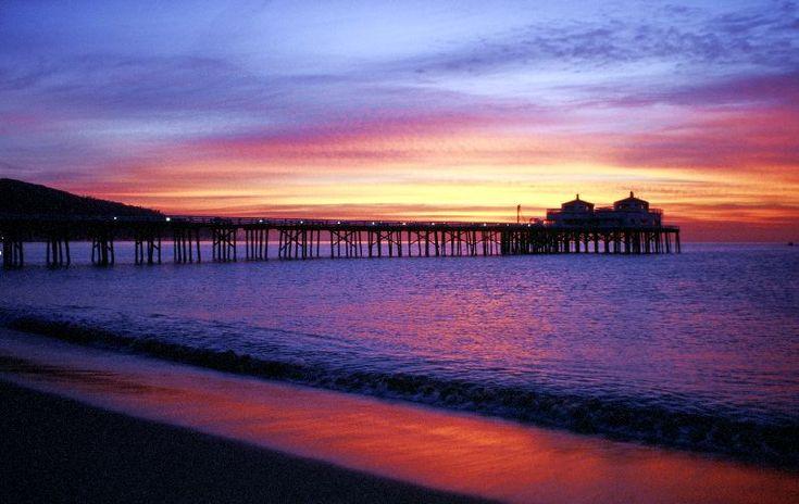 Malibu Sunrise Malibu California What I Ve Seen California Malibu Sunrise Malibu California