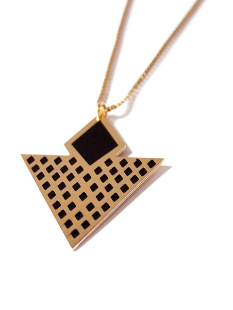 Geometric Archie Necklace Chic Alors ! available on www.autreshop.com !