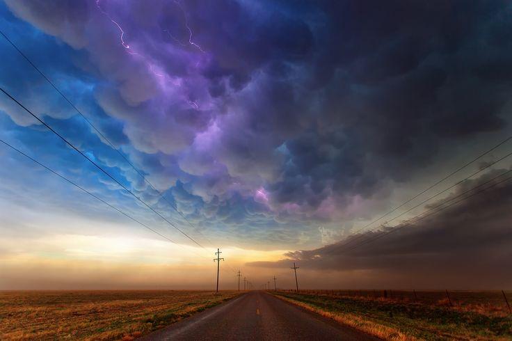 Texas usa road storm clouds rain lightning sky wallpaper | 2048x1365 | 126290 | WallpaperUP