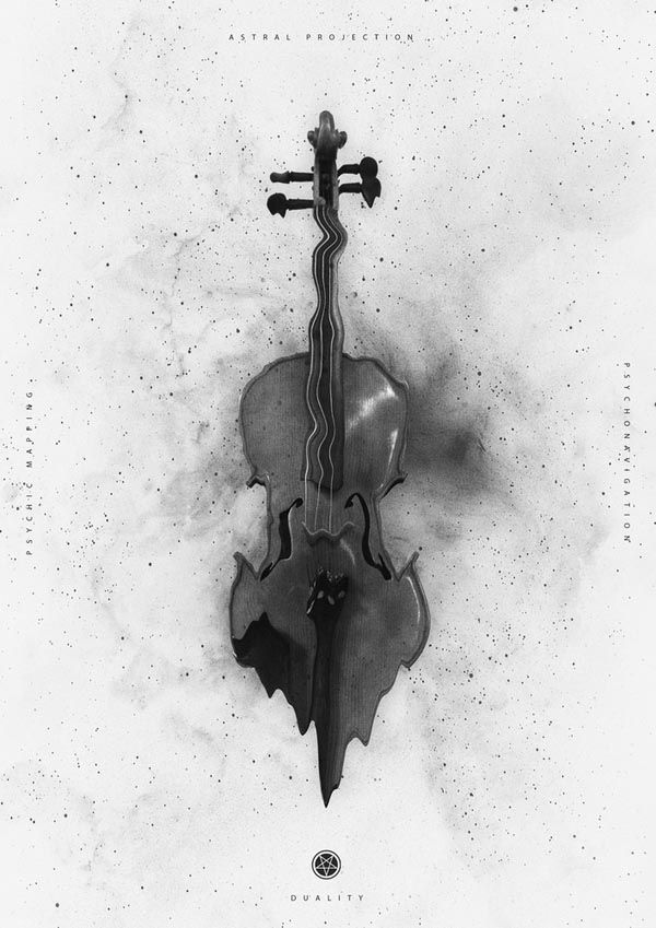 Black and White Print Series by Nicolas Lalli
