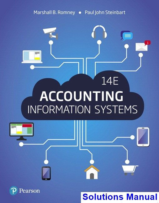 Accounting Information Systems 14th Edition Romney Solutions