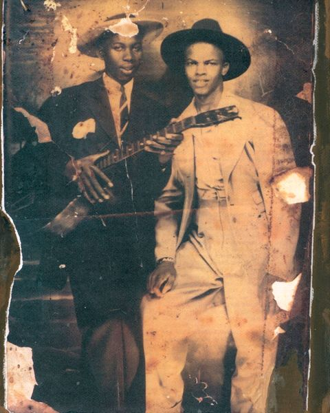 robert johnson with johnny shines