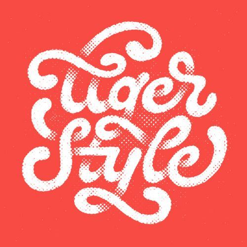 Typeverything.com Tiger Style by Will Dove.