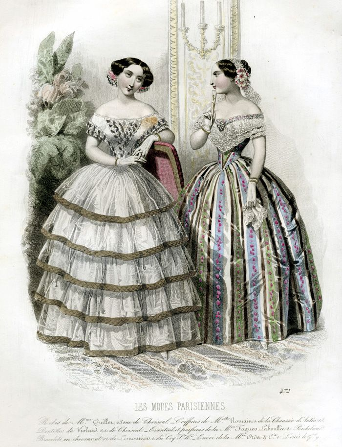24 Best Images About Full Colour Fashion Plates 1840 1849