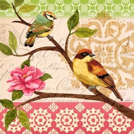 Jennifer Brinley-birds- Pájaros/casas de pájaros