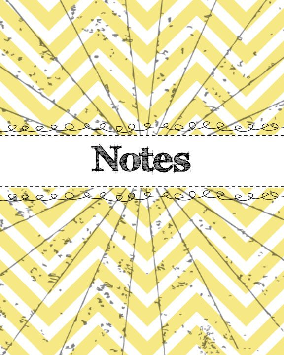 Binder #divider #notes #printable for #college #studying