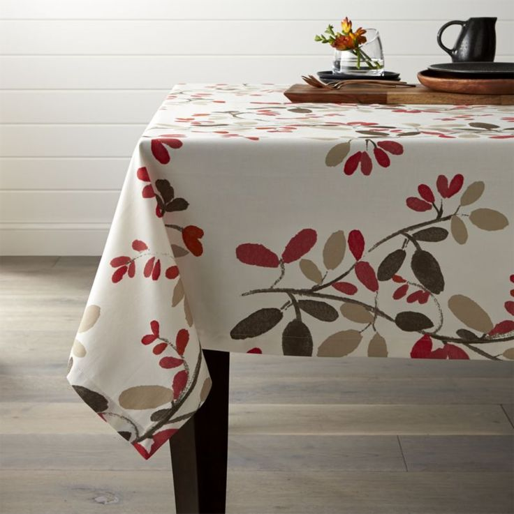 Free Shipping. Beautify and protect your table with tablecloths from Crate and Barrel. Browse styles including polyester, cotton and linen tablecloths.