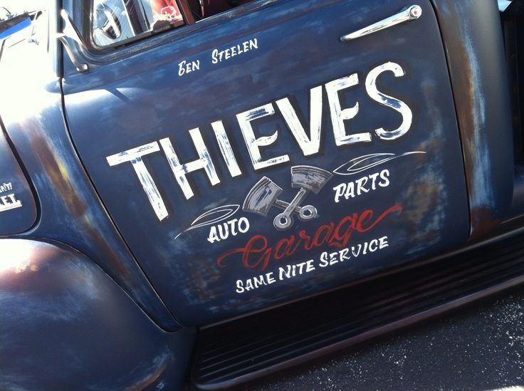 Best Truck Lettering Ideas On Pinterest Ice Cream Font Food - Signs of cars with namesbest car signs photos blue maize