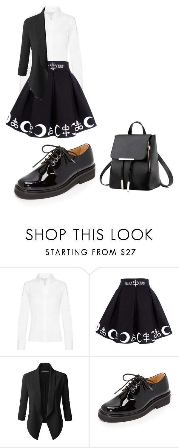 """""""Untitled #200"""" by alena-medvedeva ❤ liked on Polyvore featuring LE3NO and A.P.C."""