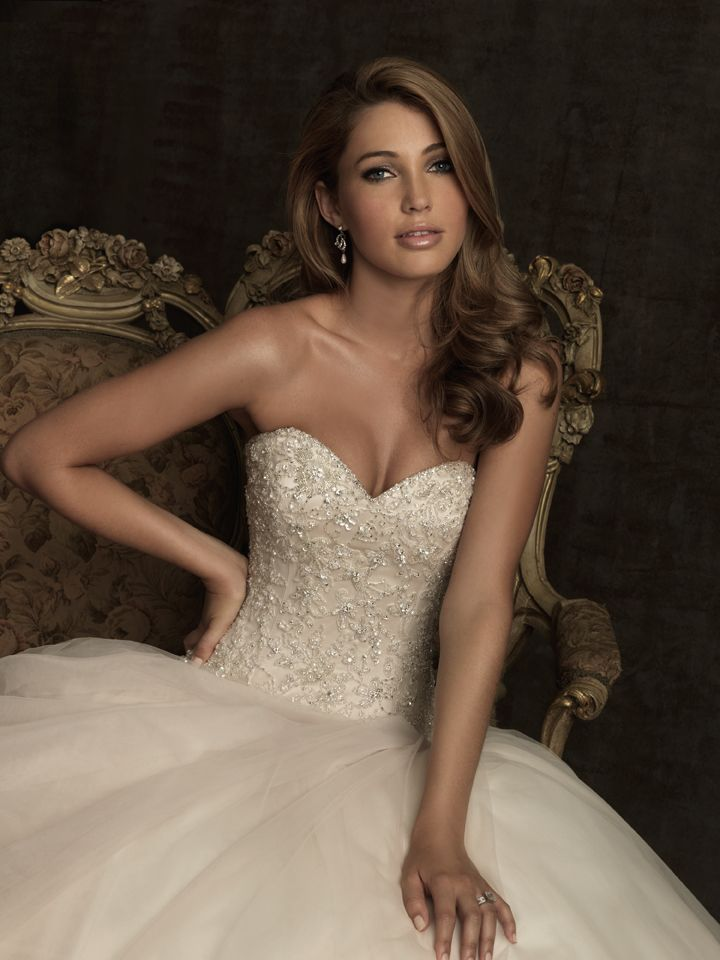 Allure Bridal Gowns Melbourne : Allure bridals a fabulous ballgown with tons of sparkle the