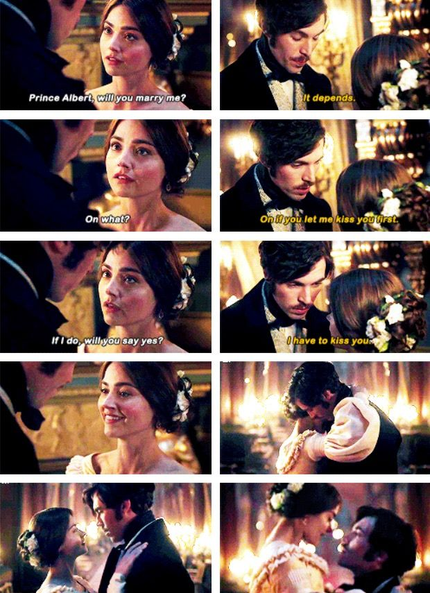 ITV's Victoria- Victoria and Albert - Jenna Coleman and Tom Hughes