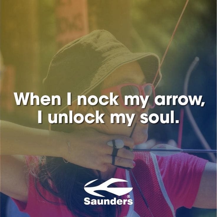 Get outside this weekend and practice! #archery #nockmyarrow