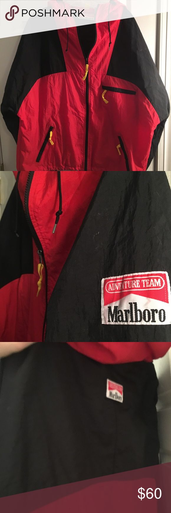 Marlboro Adventure Team windbreaker Marlboro windbreaker Marlboro Jackets & Coats Lightweight & Shirt Jackets