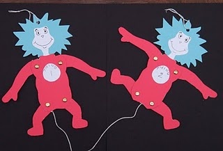thing 1 thing 2 puppets