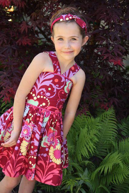 süßes Sommerkleid, Kleid nähen
