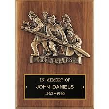Image result for firefighter award plaques