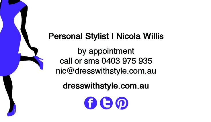 I offer wardrobe consultations, personal shopping services, style parties and I'm happy to do customized packages to suit your personal styling needs. Brisbane and surrounding areas.