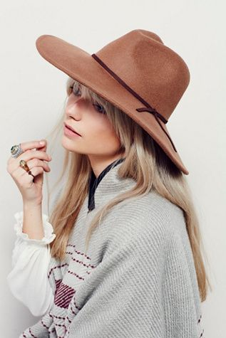 Free People Matador Hat at Free People Clothing Boutique ...